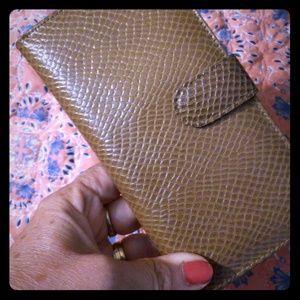 Vintage leather wallet by Prince Gardner